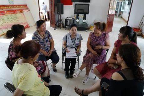 Women focus group in Xijiang Village